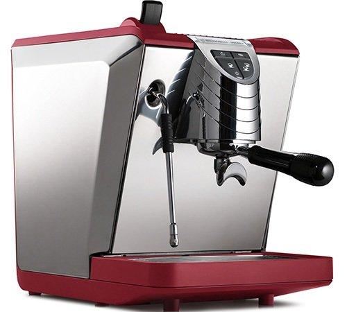 Espressomaschine Oscar II Rot Nuova Simonelli Professionelle Leistung auf kleinstem Raum Made in Italy
