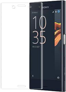 Sony Xperia X Compact ガラスフィルム Sony エクスペリア X Compact SO-02J F5321 フィルム 専用 全面保護 3D全面 気泡ゼロ 指紋防止 9H 高鮮明 高透過率 耐衝撃 クリア