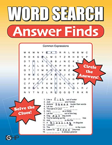 Compare Textbook Prices for Word Search Answer Finds: The NEW Kind Of Word Search - Solve The Clues... Circle The Answers  ISBN 9798730429840 by Publishing, Greater Heights