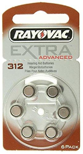 RAYOVAC r312AE pour appareils auditifs