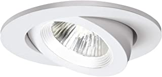 White EATON HALO Commercial PR8M12WDMW PR8 LED 8 Integrated LED Recessed Trim Module Wide Distribution 1000//1500//2000 lms