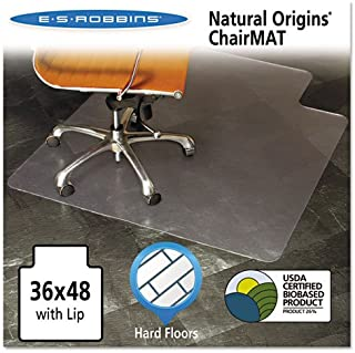 ESR143002 - Natural Origins Chair Mat with Lip for Hard Floors