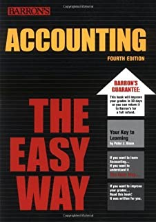 Accounting the Easy Way [Barron's E-Z] by Eisen, Peter J. [Barron's Educational Series,2003] [Paperback] 4TH EDITION