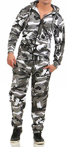 89C3 Game Herren Jogginganzug Camouflage Anzug Set Army Urban Gr M