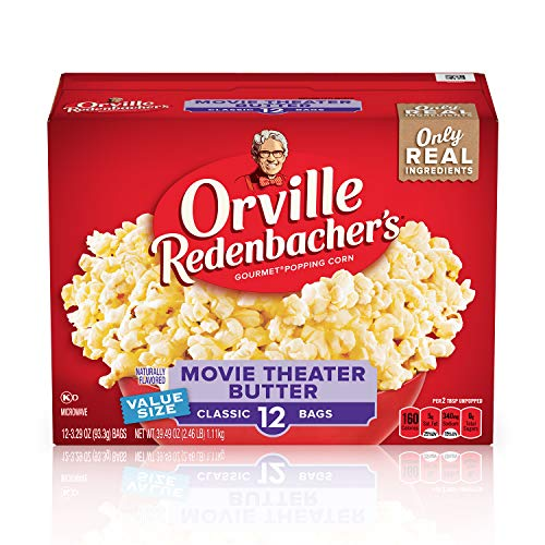Orville Redenbachers Movie Theater Butter Microwave Popcorn - 10ct