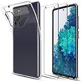 LK Kompatibel mit Samsung Galaxy S20 FE 4G/5G Hülle mit 2