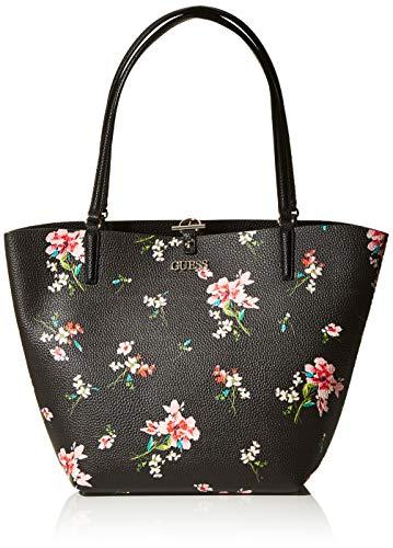 Guess Alby, Borsa Tote Donna, Multicolore (Floral), 15x30x43 cm (W x H x L)