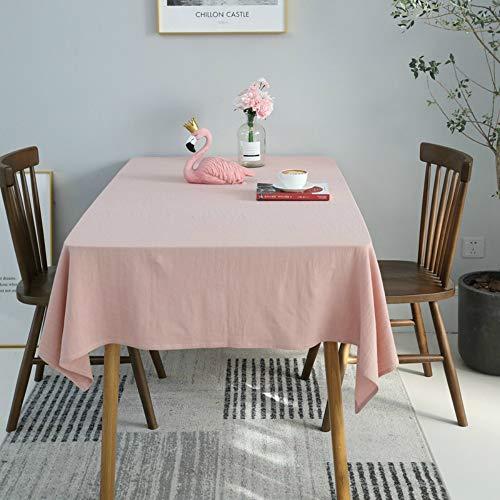 YOUYUANF tischdecke Garten tischdecke abwaschbar Tischdecke (Farbe und Größe sind optional) - Hochwertige Tischdecke aus 100{c2e5b8a79de1d8b5b7c0dad0630786f30001c2dfc02b9cb3e153963c125c5df2} Baumwolle130x130cm
