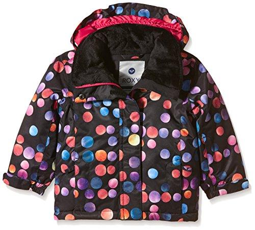 Roxy Mini Jetty Kinder-Jacke 24 Monate schwarz - Cosmic Dots