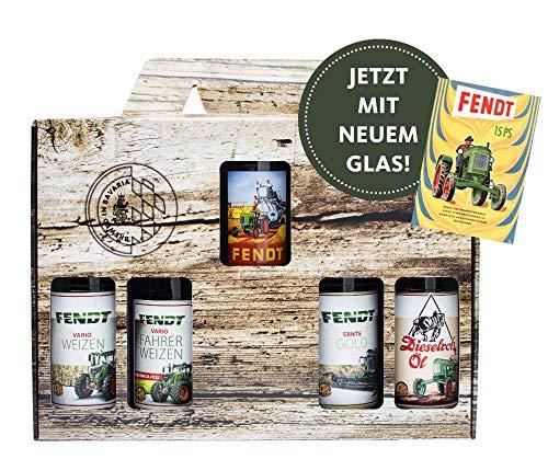 Fendt 4 Flaschen + 1 Glas Geschenkkarton