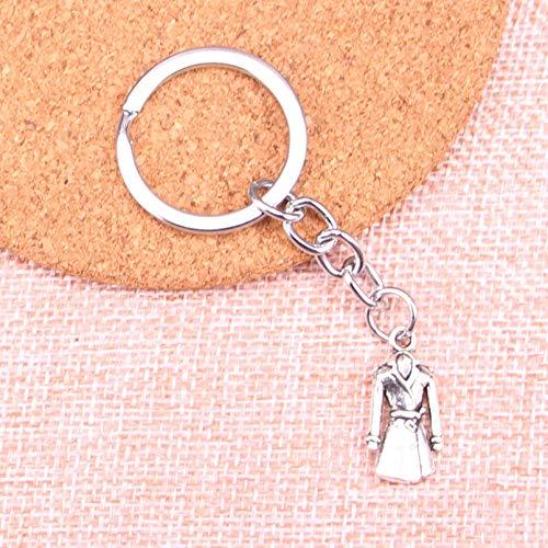 GEYKY Abrigo Abrigo Gabardina Llavero Vintage Key S Llaveros Colgante Hombres Regalo...