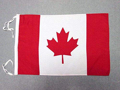AZ FLAG Flagge Kanada 45x30cm mit Kordel - KANADISCHE Fahne 30 x 45 cm - flaggen Top Qualität