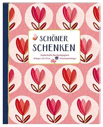 Geschenkpapier-Buch - Schöner schenken (All about red): Zauberhafte Geschenkpapiere