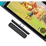 Nintendo Switch Bluetooth オーディオアダプター MAXKU ニンテンドー スイッチ PS4 Switch lite PC用 無線 遅延なしミニ USB-C ヘッドホンレシーバー トランスミッター Bluetoothレシーバー イヤフォンコンバーター ブルートゥースイヤホーン (ブラック)