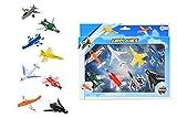 Toi-Toys- Die-cast Set Avion de Chasse Figurine, 26012A, Multicolore