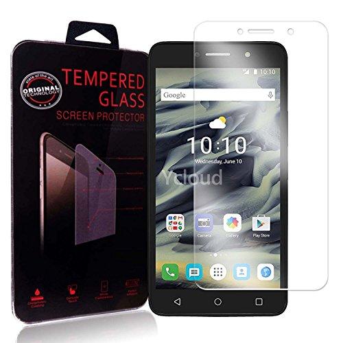 Ycloud Panzerglas Folie Schutzfolie Bildschirmschutzfolie für ALCATEL Pixi 4 (6.0 Zoll, 3G / 4G Version) Screen Protector mit Festigkeitgrad 9H, 0,26mm Ultra-Dünn, Abger&ete Kanten