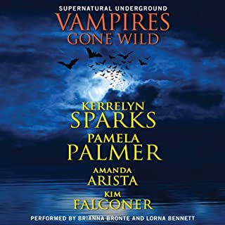 Vampires Gone Wild (Supernatural Underground) audiobook cover art