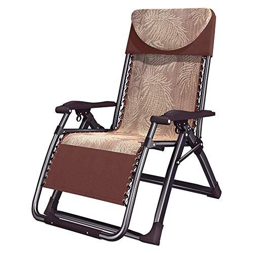 YLCJ Camping fauteuil met balkon | Opvouwbare bureaustoel voor lunchpauze Opvouwbare schommelstoel voor thuis Een ++ schommelstoel voor strand