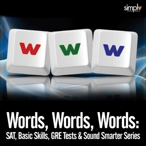 Words, Words, Words audiobook cover art