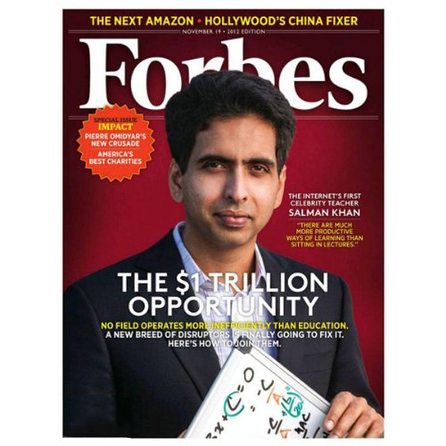 Forbes, November 12, 2012 audiobook cover art