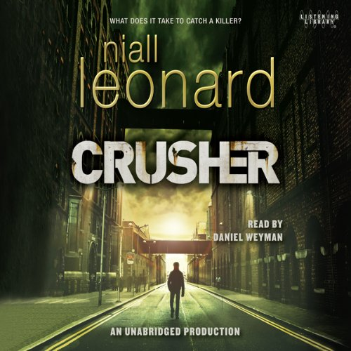 Crusher audiobook cover art