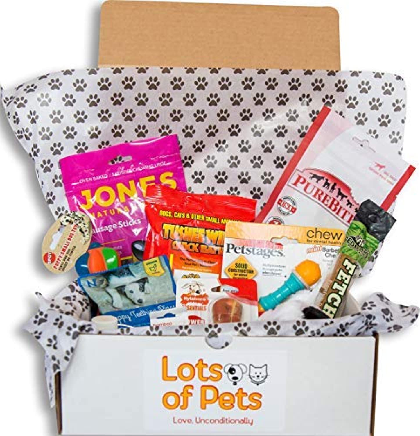 Lots of Pets Teeny Meenie Dog Party Box for Dogs Up to 20 lbs. (Small [Teeny Meenie])
