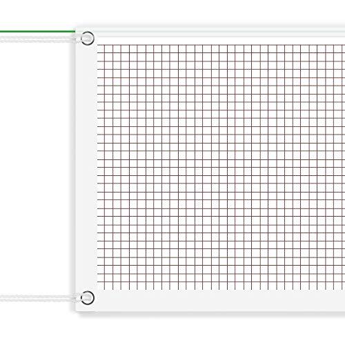 Wodondog Tragbares Badminton-Netz, professionelles Badminton-Turnier-Netz für Sport, Garten, Strand, Schule, mit Seilkabel (nur Netz)
