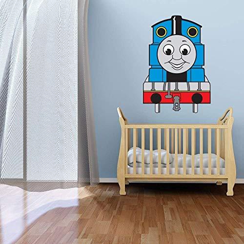 Bart671Lu Wandaufkleber, Motiv: Thomas, die kleine Lokomotive, 60 x 90 cm