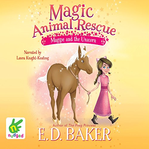Maggie and the Unicorn cover art