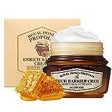 SKIN FOOD real miel propóleos enrich crema barrera 2.13 fl.oz. (63 ml) - 50% negro propóleos de abeja y jalea real extracto contenía potente crema nutritiva facial, piel hidratante reafirmante