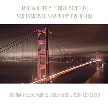 Dohnanyi: Serenade - Gruenberg: Violin Concerto