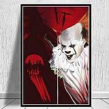 supmsds Pintura Digital DIY Serie de Personajes de películas Punto de Cruz Digital Set DIY Digital para Manualidades 40X60CM(Sin Marco)