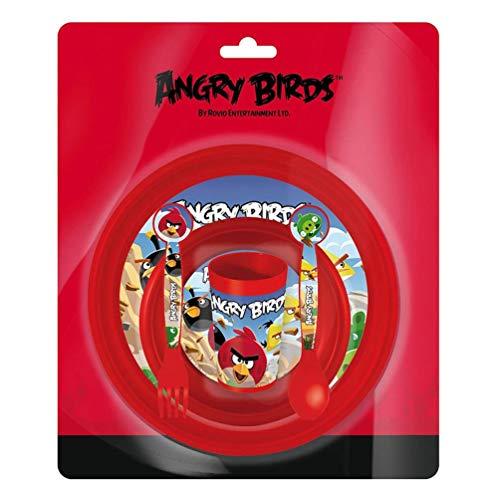 Set desayuno Angry Birds 5pz.