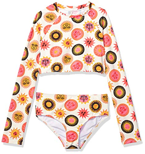 Price comparison product image Billabong Girls' Girls' Ole Souliel Set Rashguard Set Multi 10
