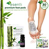 Foot Pads & Lavender Essential Oil | 100% All Natural Self Adhesive Cleansing - Best Reviews Guide