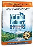 Natural Balance Dry Dog Food, Grain Free Limited Ingredient Diet Fish...