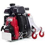 Portable Winch Gas-Powered Capstan Winch - 2,200-Lb. Pulling Capacity, 2.1 HP, Honda GHX-50 Engine, Model Number PCW-5000
