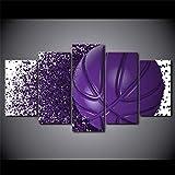 HKDGHTHJ Material de protección del medio ambiente pintura decorativa. 200x100cm Morado deportes baloncesto creatividad. Póster de lienzo con impresiones en HD, decoración del hogar para sala de estar