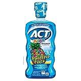 ACT Kids Anticavity Fluoride Rinse, Pineapple Punch Children's, Mouthwash, 16.9 Fl Oz