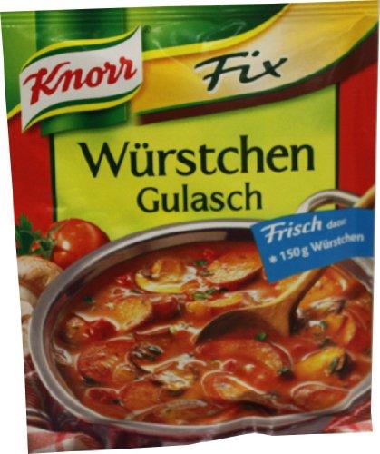 Knorr Fix für Würstchen-Gulasch