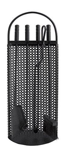 Imex El Zorro 10010 Juego para chimenea malla antigua (68 x 23 x 14 cm) útiles negros