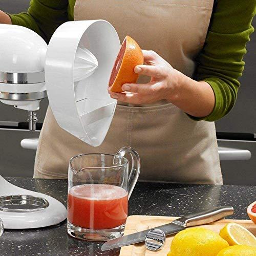 Entsafter Zubehör-Set, Entsafter Supplies Kit für Kitchenaid JE Zitruspresse, Entsafter Zitronenständer Mixer Aufsatz