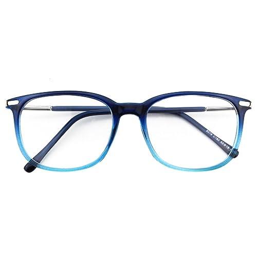 c6e0a0e6cc CGID CN79 Retro Anteojos Lente Claro Gafas Para Mujer y Hombre