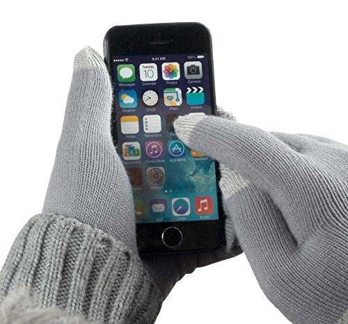yayago Touchscreen Handschuhe kapazitiv Universalgröße (ca. M – L) – für Wiko Lenny 3