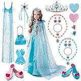 Princess Dress Up, TERTOY Girls Toys Pretend Role Play Set -...