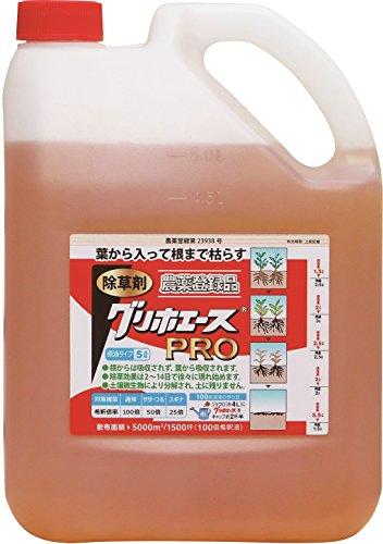 ハート 除草剤 原液タイプ グリホエースPRO 5L