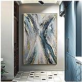 Murales 20x30cm 1 Piezas sin Marco Lienzo Abstracto Moderno Pintura Carteles e Impresiones imágenes artísticas de Pared para la decoración del Dormitorio de la Sala de Estar