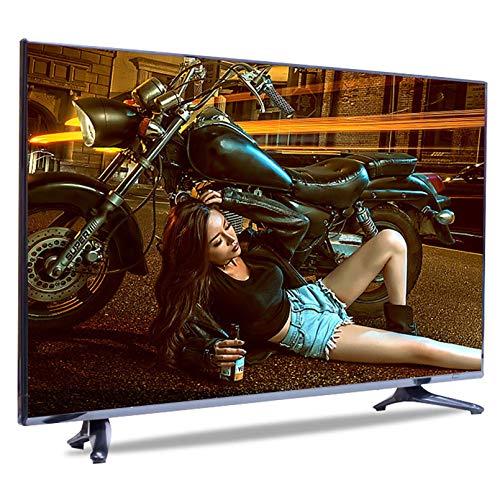 LINGXIU Smart TV, Smart TV con función de reproducción, WiFi Incorporado, TV Curvo 4K a Prueba de explosiones