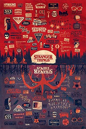 Stranger Things Póster The Upside Down (61cm x 91,5cm)