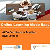 PTNR01A998WXY ACCA Certificate in Taxation (RQF Level 4) Online Certification Video Learning Made Easy